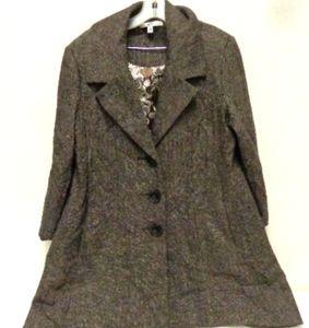 CAbi Tweed Coat Size 4